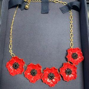 Kate Spade Precious Poppies Necklace